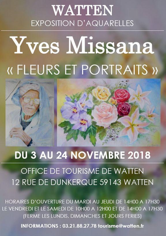 Exposition d'aquarelles d'Yves MISSANA